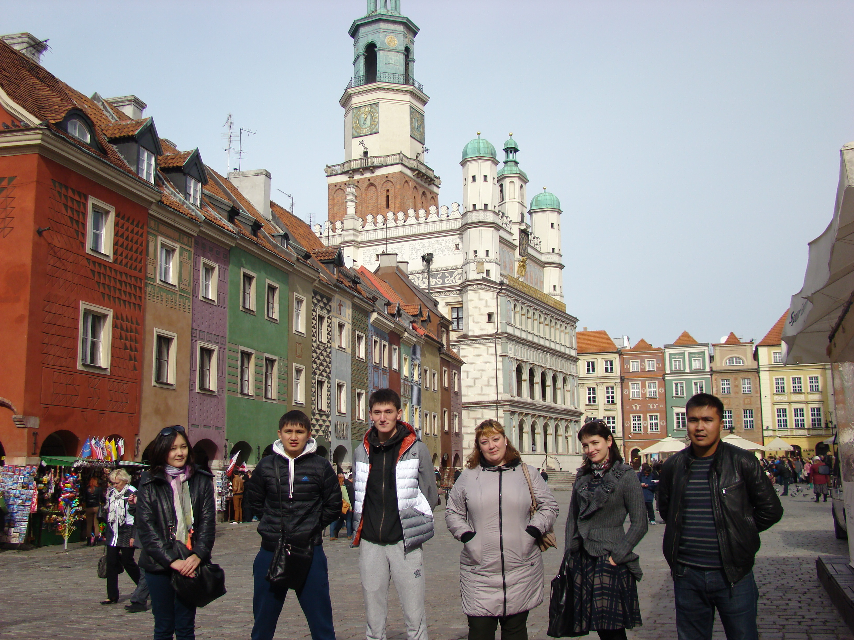 Incoming students group from Karaganda State University, Kazakhstan